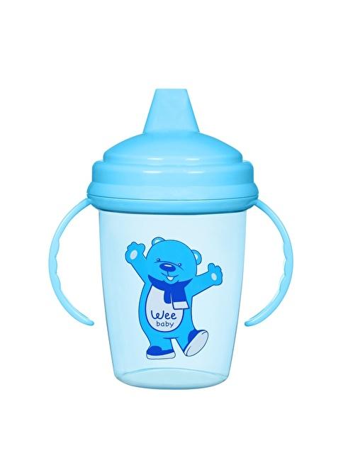 Wee Wee Baby 755 Enjoy Akıtmaz PP Alıştırma Bardağı  Mavi